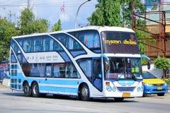 Trasporti il nessun 18-9 del bus della società di Sombattour Fotografia Stock Libera da Diritti