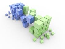 Trasporto 3D Fotografie Stock Libere da Diritti