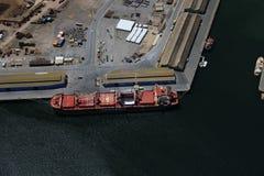 Trasporto aereo della nave Fotografie Stock