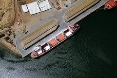 Trasporto aereo della nave Fotografia Stock Libera da Diritti