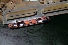 Trasporto aereo della nave Immagine Stock
