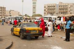 Trasporto in Africa Immagine Stock