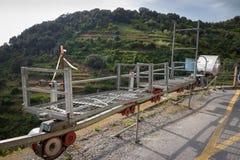 Trasporto Corniglia della vigna Immagine Stock Libera da Diritti