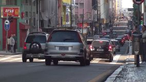 Trasporto Curitiba - nel Brasile video d archivio