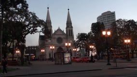Trasporto Curitiba - nel Brasile archivi video