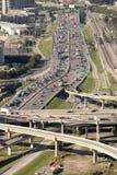 Trasporto: Dallas Traffic Immagini Stock