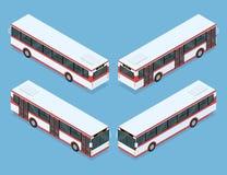 Trasporto del bus della città Fotografia Stock Libera da Diritti
