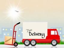 Trasporto del camion royalty illustrazione gratis