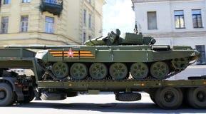 Trasporto del carro armato Immagini Stock Libere da Diritti