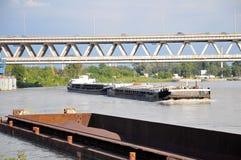 Trasporto del fiume Fotografie Stock Libere da Diritti