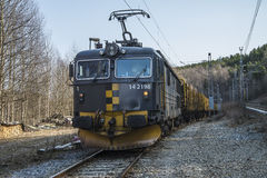 Trasporto del legname Fotografie Stock