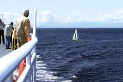 Trasporto del traghetto Immagine Stock Libera da Diritti
