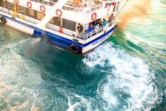 Trasporto del traghetto a Costantinopoli Immagine Stock