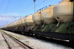 Trasporto del treno Immagini Stock