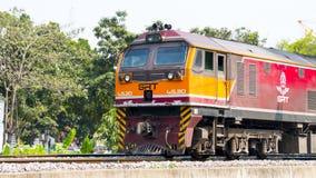 Trasporto del treno in Tailandia Fotografie Stock
