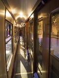 Trasporto del treno a vapore Fotografia Stock