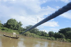 Trasporto dell'acqua Fotografia Stock Libera da Diritti