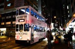Trasporto dell'automobile del tram Fotografia Stock