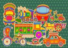 Trasporto dell'India fotografie stock