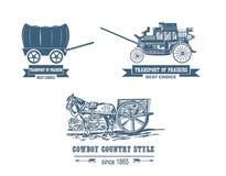 Trasporto della prateria di Printfirst Immagine Stock