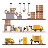 Trasporto delle merci illustrazione di stock