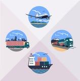 Trasporto di carico Illustrazione Vettoriale