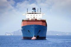 Trasporto di contenitori, di andata Immagini Stock Libere da Diritti