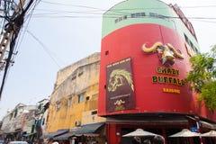 Trasporto di Ho Chi Minh City Area Fotografia Stock Libera da Diritti
