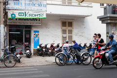 Trasporto di Ho Chi Minh City Area Fotografia Stock