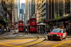Trasporto di Hong Kong Fotografia Stock Libera da Diritti