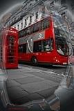 Trasporto di Londra Fotografia Stock Libera da Diritti