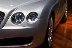 Trasporto di lusso dell'automobile sportiva immagine stock libera da diritti