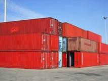 Trasporto di merci Immagine Stock Libera da Diritti
