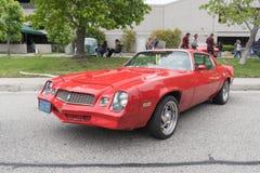 Trasporto di Pontiac su esposizione fotografia stock