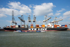 Trasporto di Rotterdam Fotografia Stock Libera da Diritti