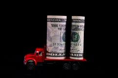 Trasporto di soldi Immagine Stock