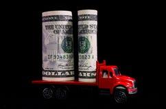 Trasporto di soldi Immagine Stock Libera da Diritti