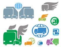Trasporto e logistica illustrazione vettoriale