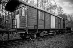 Trasporto ferroviario Stile dell'annata immagine stock