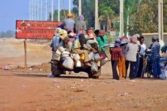 Trasporto locale ammucchiato Immagini Stock Libere da Diritti
