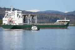 Trasporto marittimo della nave da carico. Immagine Stock Libera da Diritti