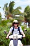 Trasporto nel cuoco Islands di Aitutaki Fotografie Stock