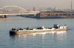 Trasporto nel porto di Anversa Fotografia Stock Libera da Diritti