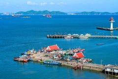 Trasporto nell'isola di Koh Si Chang Fotografie Stock