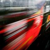Trasporto nella città Idea di concetto dell'artista astratto Fotografie Stock