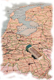 Trasporto in Olanda Immagine Stock