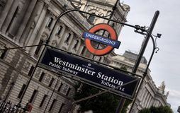 Trasporto per Londra Fotografia Stock
