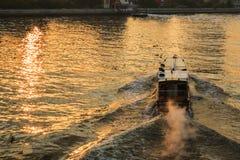 Trasporto preciso della barca Fotografie Stock
