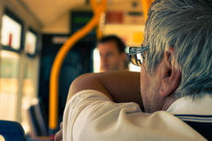 Trasporto pubblico Fotografie Stock Libere da Diritti