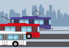 Trasporto pubblico royalty illustrazione gratis
